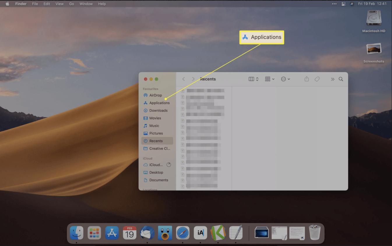 Étape 2 Mac