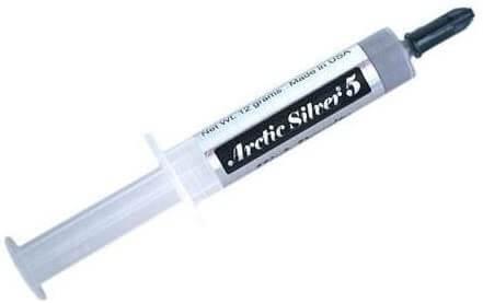Arctic Silver 5 Graisse thermique seringue Blister multilangue 3,5 g - AS5-3.5G