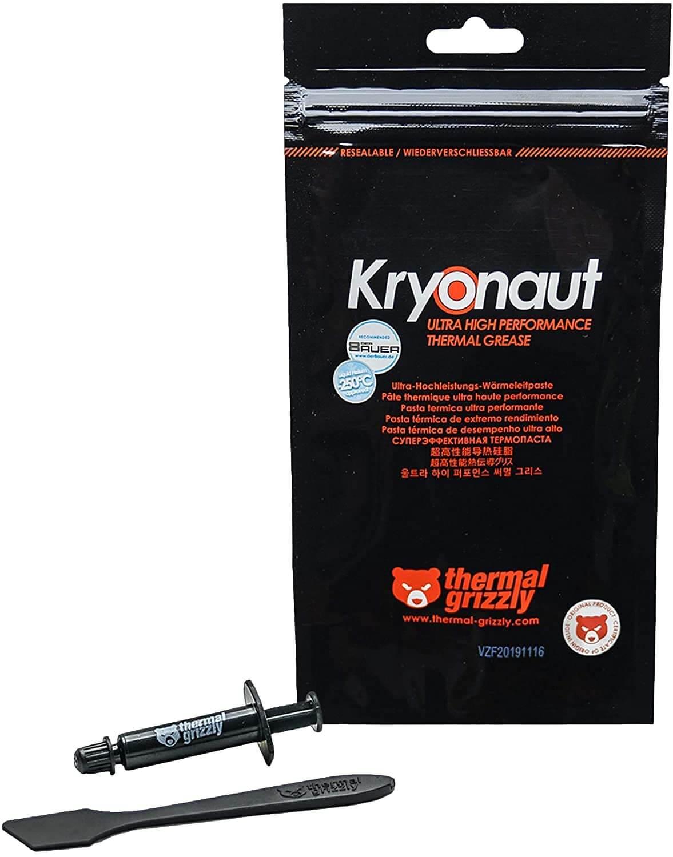 Pâte de graisse thermique Thermique Grizzly Kryonaut