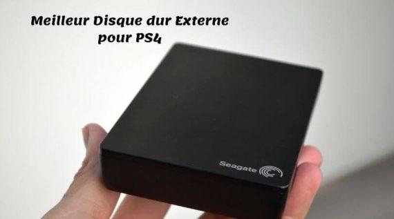 Meilleur Disque dur Externe pour PS4