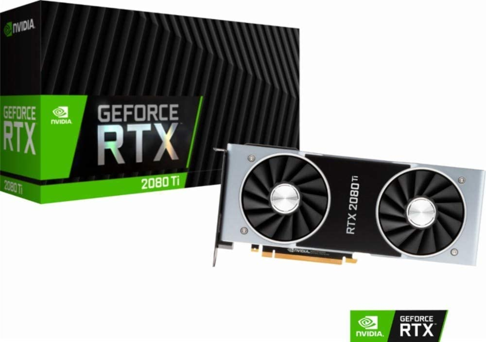Nvidia GEFORCE RTX 2080 TI Founders Edition 11 Go GDDR6