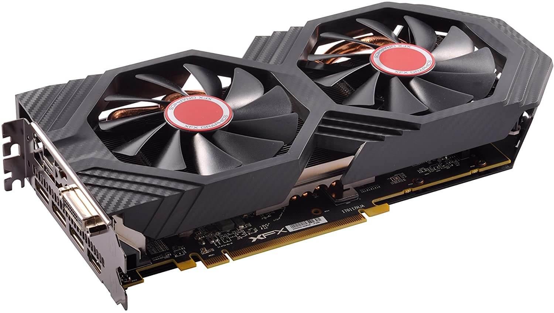 XFX RX580P8DFD6 Carte graphique AMD Radeon RX 580 1366 MHz 8 Go PCI Express 3.0