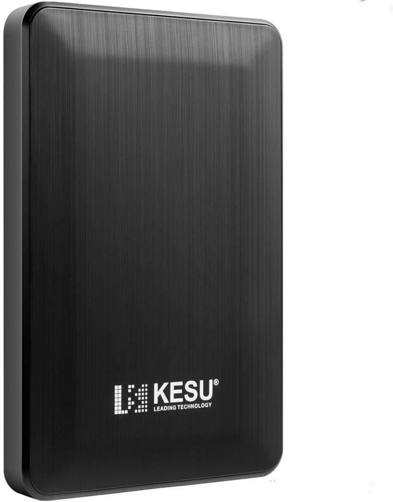 KESU 2.5 1To Ultra-Mince Disque Dur Externe Portable