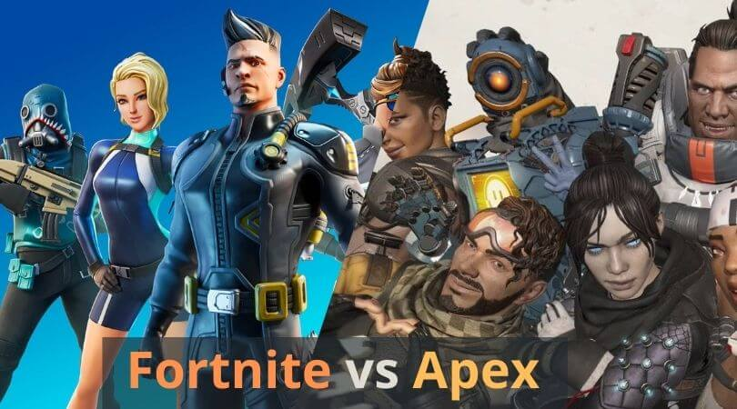 Fortnite vs Apex