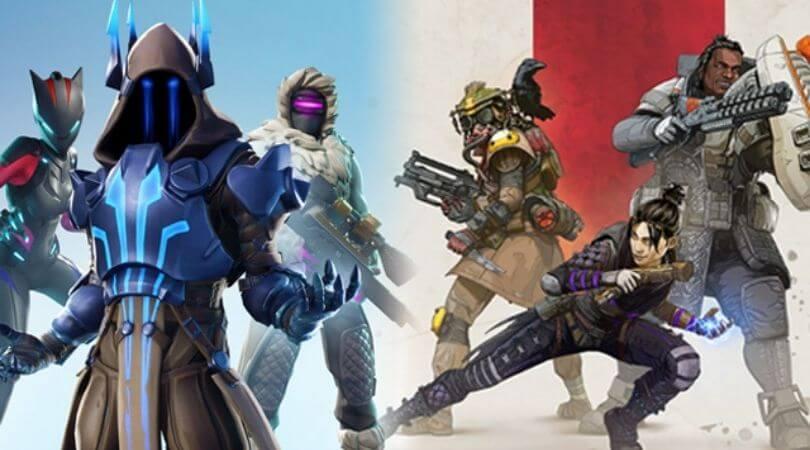 Quelle est la différence entre Apex Legends et Fortnite?