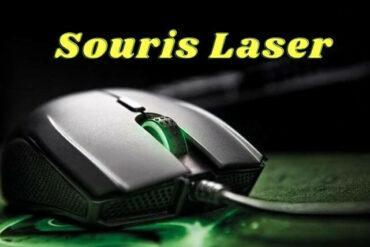 Souris Laser