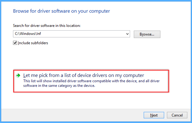 Update the Plug and Play Software Device Enumerator Driver Manually