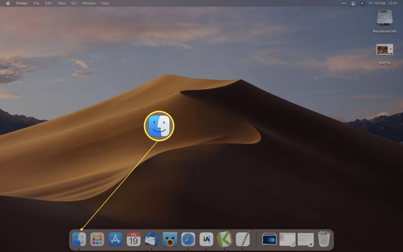 Étape 1 Mac